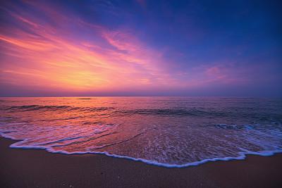 云景,海洋,自然美