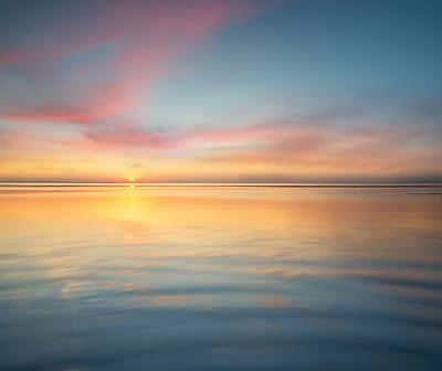 水平线海景