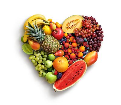 水果心型图片
