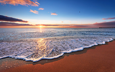 天空,早晨,黎明