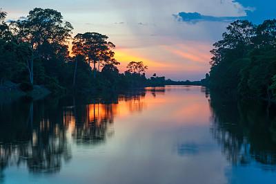 亚马逊河,圭亚那,观光船