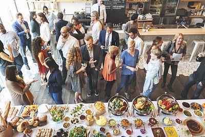 会议食品图片