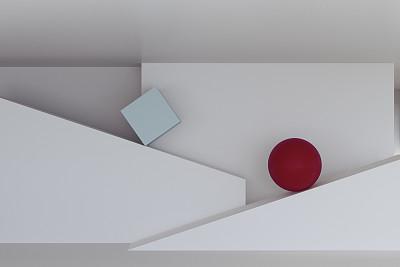 墙球体抽象