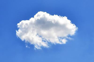 一个物体云天空