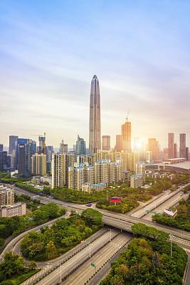 深圳城市天际线经济特区