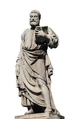 罗马使徒雕塑