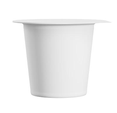 酸奶白色空白的
