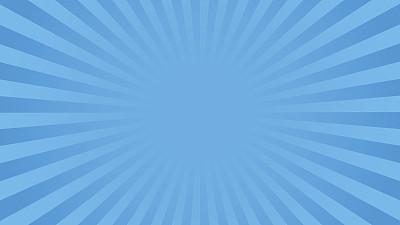 阳光光束蓝色明亮