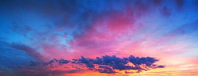 彩色的天空