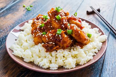 芝麻鸡肉米