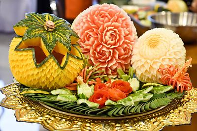 水果蔬菜食品雕刻