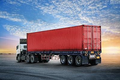 卡车容器商用码头