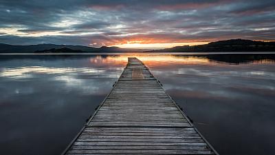 阳光光束,第一名,洛蒙德湖
