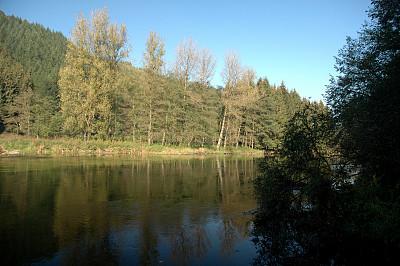 河流,比利时,阿登