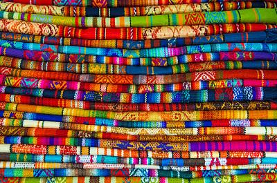 库斯科市纺织品市场