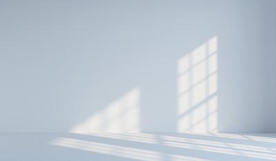墙上窗户投影