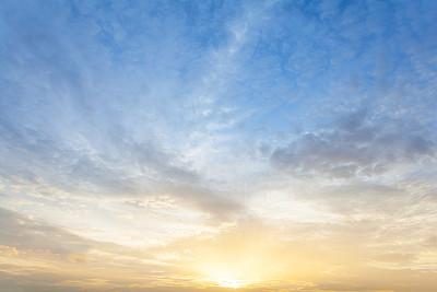 天空,气候,水平画幅