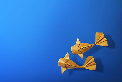 折纸工艺鲤鱼锦鲤