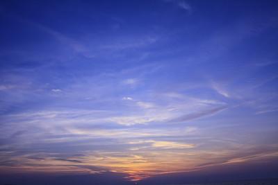 天空,云,背景