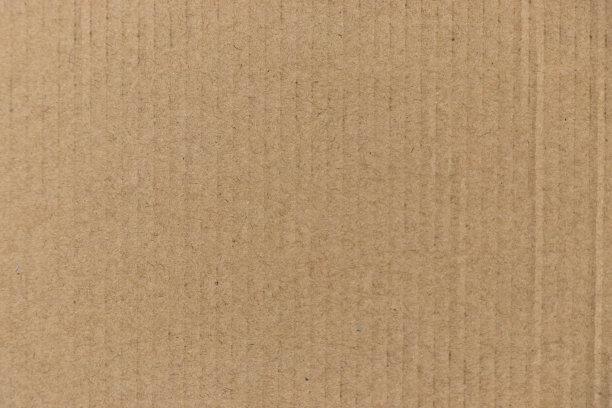 褐色瓦楞纸板古老的
