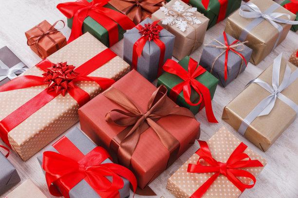 各种包装礼物
