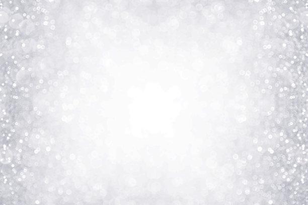 白色雪花背景