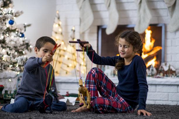 木偶圣诞装饰物2岁到3岁