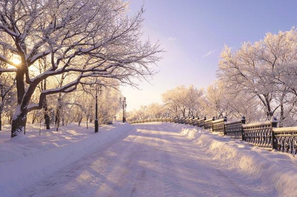 冬季仙境天空公园