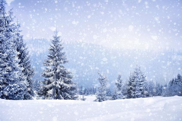 冬天下雪唯美
