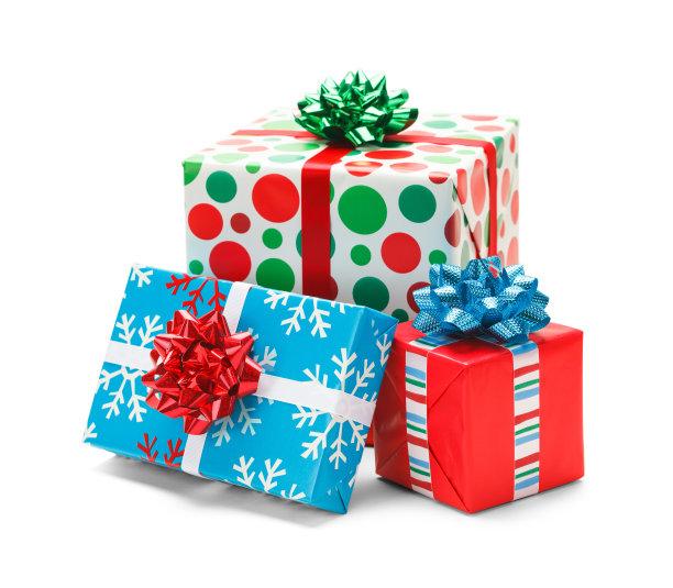 圣诞节礼物包装盒