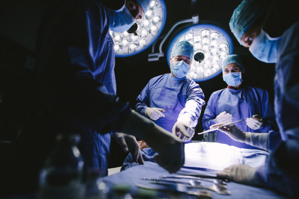手术室人群手术衣