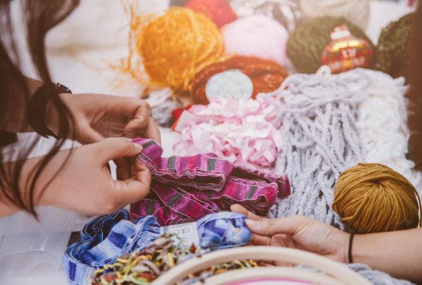 纺织课品牌服装针织品