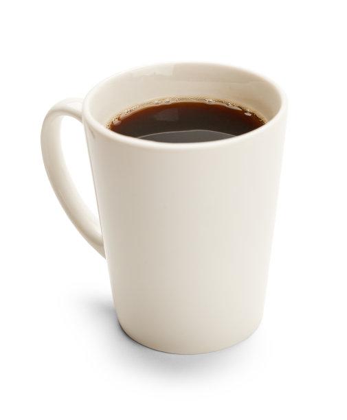 咖啡杯杯黑咖啡