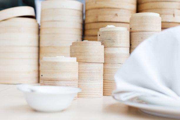 竹子容器食品