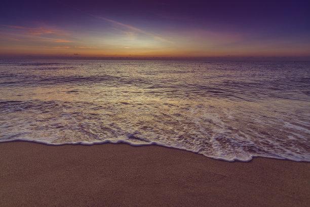 海洋,海滩,自然