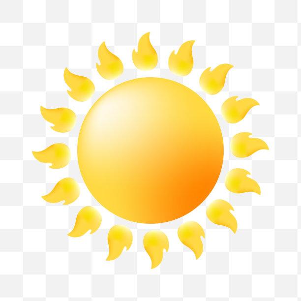 日光计算机图标背景