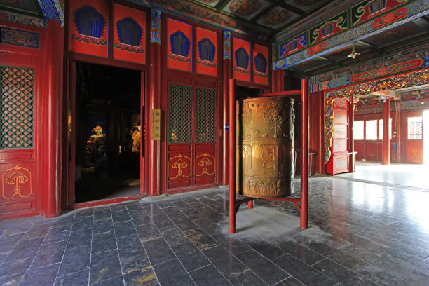 喇麻庙内蒙古自治区图片