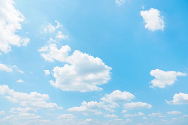 晴朗的天空