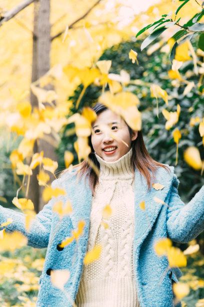 秋天森林上海