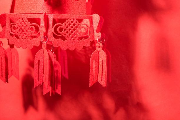 灯笼春节背景