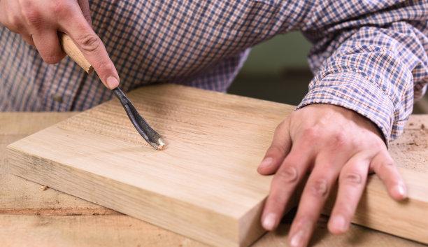 木工厚木板凿子