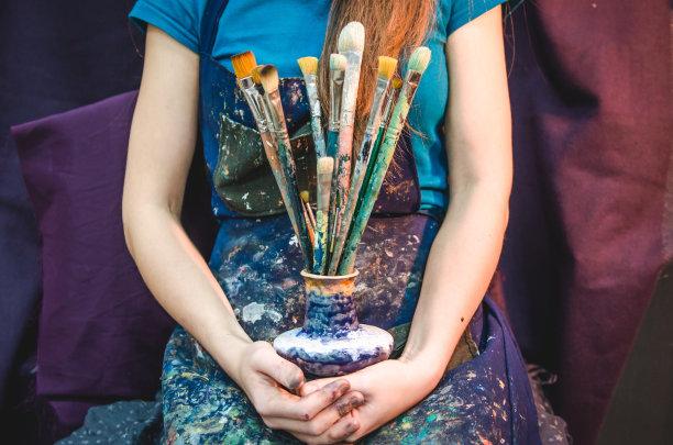 艺术家的画笔