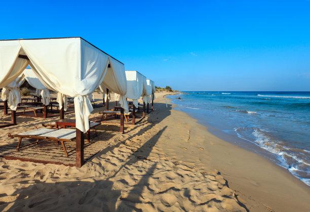 普利亚区海滩意大利