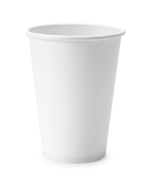 一次性杯子白色垂直画幅