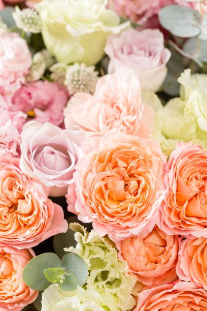 花束木制花卉商