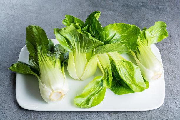 清新油菜生食