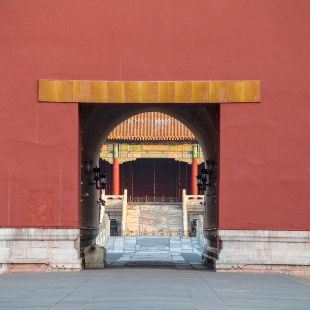 故宫北京大门