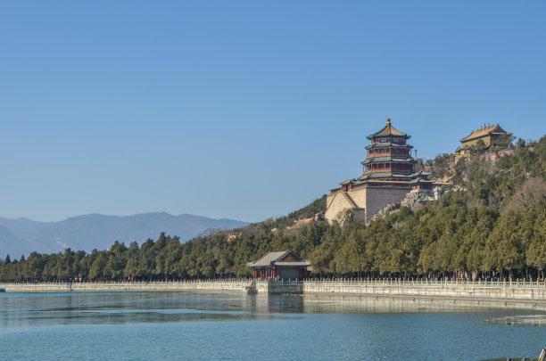 北京颐和园清朝