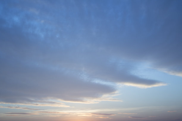 天空,云,早晨