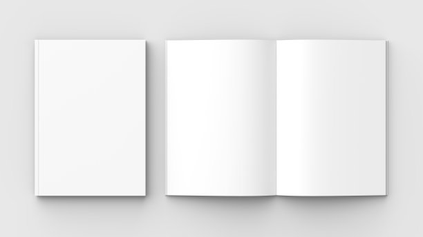 空白小册子效果
